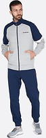 Фото Lotto спортивный костюм Suit Triple II Rib MeLl JS Cool Gray 6C/Navy Blue (213265/1PA)