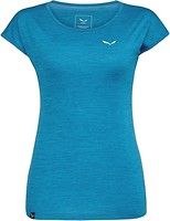 Фото Salewa футболка Puez Melange Dry Women's