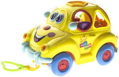 Фото Joy Toy Машинка-сортер Автошка с фруктами (9170, 100546)
