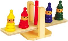 Мир деревянных игрушек Весы-пирамидки (Д009)