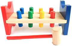 Мир деревянных игрушек Гвозди-перевертыши (Д002)