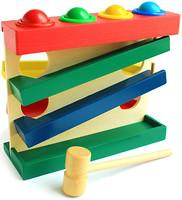 Фото Мир деревянных игрушек Горка-шарики большие (Д102)