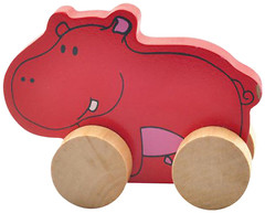 Мир деревянных игрушек Каталка Бегемот (Д295)