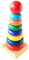 Мир деревянных игрушек Пирамида Круг (Д006)