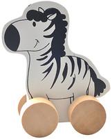 Мир деревянных игрушек Каталка Зебра (Д298)