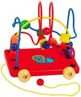 Фото Мир деревянных игрушек Лабиринт-каталка Львенок (Д011)