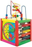 Мир деревянных игрушек Универсальный куб (Д260)
