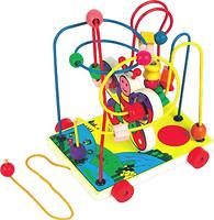 Мир деревянных игрушек Лабиринт-каталка Бабочка малая (Д116)