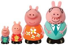 Фото Peppa Pig Игрушка-брызгунчик Семья Пеппы (25068)