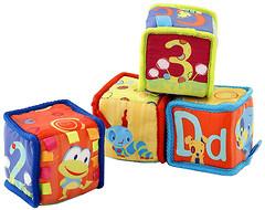 Kids II Мягкие кубики Веселое обучение 52160)