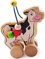 Фото Мир деревянных игрушек Лабиринт Коровка (Д361)