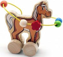 Фото Мир деревянных игрушек Лабиринт Лошадка (Д364)