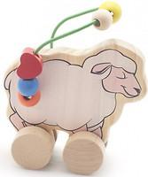 Фото Мир деревянных игрушек Лабиринт-каталка Овца (Д366)