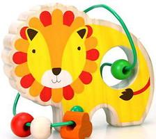 Фото Мир деревянных игрушек Лабиринт Лев (Д347)