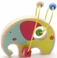 Фото Мир деревянных игрушек Лабиринт Слон (Д345)