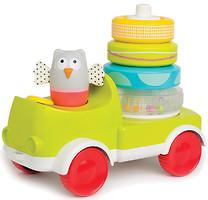 Фото Taf Toys Машинка с пирамидкой Совушка-малышка (11945)