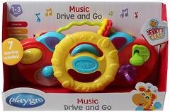 Фото Playgro Музыкальный руль (0184477, 15420)