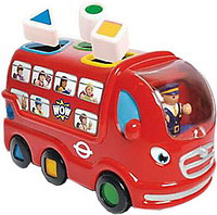 WOW Лондонский автобус (10720)