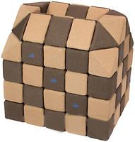 Фото Jolly Heap Мягкие магнитные кубики Коричневый/бежевый (19987)