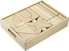 Фото Viga Toys Набор строительных блоков 48 штук (59166)