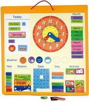 Фото Viga Toys Магнитный календарь (50377)