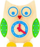 Фото Мир деревянных игрушек Сова Часы и счеты (Д391)