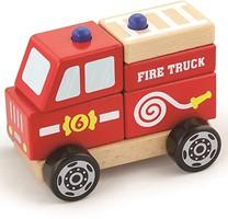 Фото Viga Toys Пожарная машина (50203)