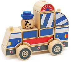 Мир деревянных игрушек Полицейская машина (Д059)