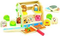 Мир деревянных игрушек Домик фермера (Д432)