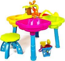 Kinderway Игровой столик с песочным набором (01-122)