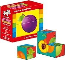 Фото Vladi Toys Набор кубиков Фрукты (ZB1001-04)