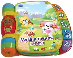 Фото VTech Музыкальная книга (80-166726)