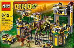 Фото LEGO Dino Штаб-квартира защиты от динозавров (5887)