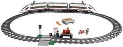 Фото LEGO City Скоростной пассажирский поезд (60051)