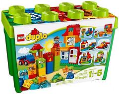 LEGO Duplo Игровая коробка Делюкс (10580)