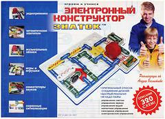 Фото Знаток Электронный конструктор 320 схем (REWK002)