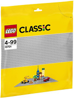 Фото LEGO Classic Строительная пластина серого цвета (10701)