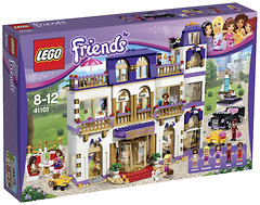 LEGO Friends Гранд Отель в Хартлейк Сити (41101)