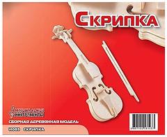 Фото Мир деревянных игрушек Скрипка (И003)
