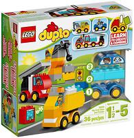 Фото LEGO Duplo Мои первые машинки (10816)