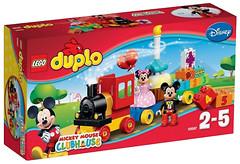 Фото LEGO Duplo День рождения Микки и Минни (10597)