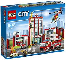 Фото LEGO City Пожарная часть (60110)