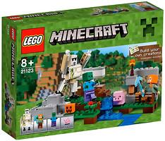 Фото LEGO Minecraft Железный голем (21123)