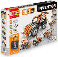 Фото Engino Inventor Motorized Set 50 моделей с электродвигателем (5030)