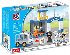 Kids Home Toys Police Station (188-113)