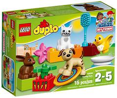 Фото LEGO Duplo Домашние животные (10838)