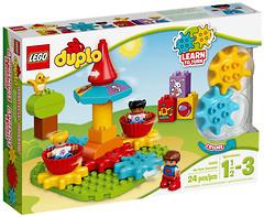 Фото LEGO Duplo Моя первая карусель (10845)