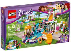 Фото LEGO Friends Летний бассейн (41313)