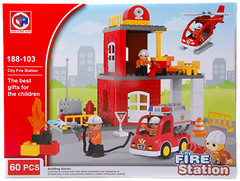 Фото Kids Home Toys Fire Station (188-103)