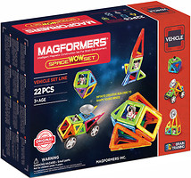 Magformers Vehicle Space Wow Set (707009)